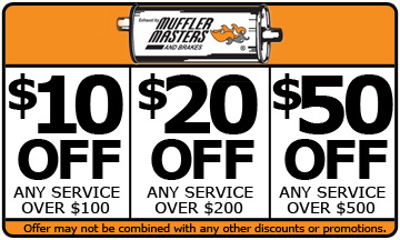 Muffler Masters of Florida Coupon Pensacola FL